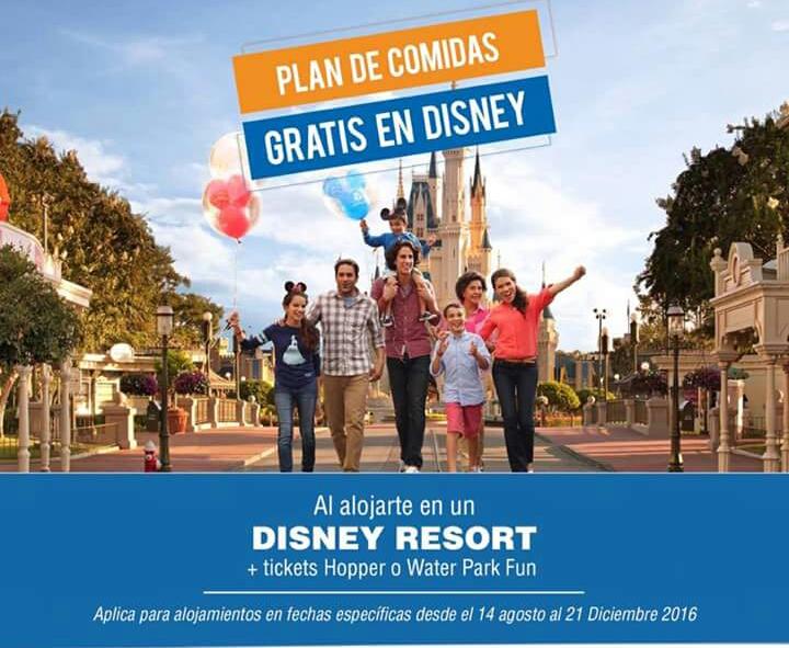 Disney comidas gratis